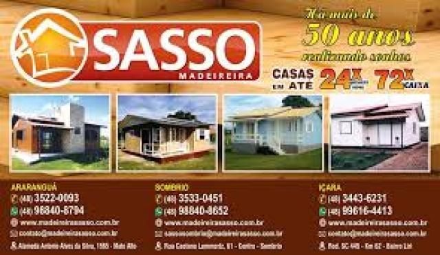 Casas de Madeira Sasso